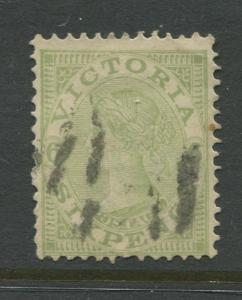 Australia Victoria #188  VFU 1901 Single 6p Stamp