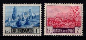 San Marino 1949 Landscapes, Part Set [Unused]