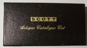 Scott Antique Catalogue Cut