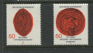 Germany -Scott 1252-1253- General Issue-1977 - MNH - Set of 2 Stamps