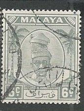 Malya - Perak || Scott # 109 - Used ©