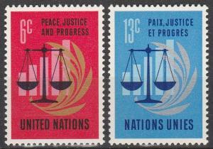 UN  #213-4  MNH F-VF (V3865)
