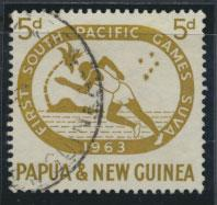 PNG - SG 49    Scott 176  Used - SPECIAL