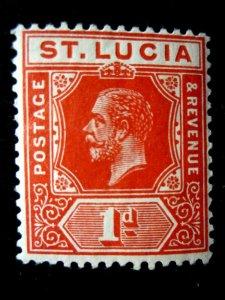 ST. LUCIA - SCOTT# 65 - MNH - CAT VAL $9.00