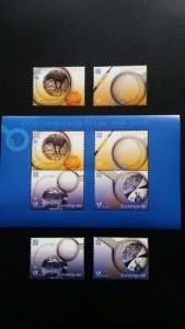 50th anniversary of EUROPA stamps - Slovenia 1x Bl + 1x Set ** MNH