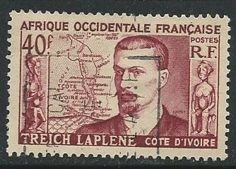 French West Africa  ^ Scott # 58 - Used