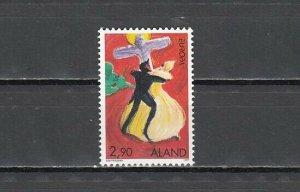 Aland, Scott cat. 135. Devil`s Dance issue. ^