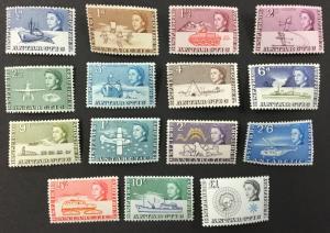(BJ Stamps) BRITISH ANTARCTIC TERR., #1-15, 1963 Set of 15. MNH. CV $169.00