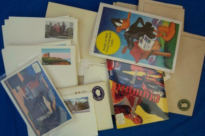 Mint US Postal Stationary, Approx. 8.5 Lbs, Shipping is Estimate ONLY (S15472)