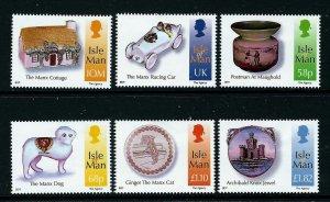 Isle of Man --2012-   Manx Tourism  MNH  Set   # 1499-1504