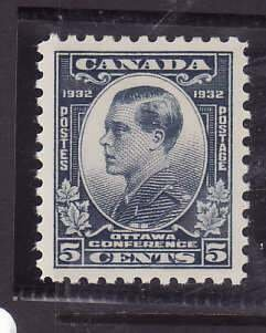 Canada-Sc#193- id5-Unused NH og 5c Prince of Wales -1932-