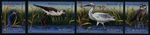 Romania MNH 5089-92 Birds Of The Danube Delta 2009