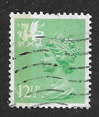 Great Britain-Wales & Monmouthshire WMMH20 USED