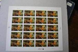 US Robert Penn Warren Scott #3904 Stamp Sheet-20 37¢ 2004 CTO