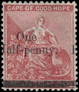 Cape of Good Hope Scott 39 Gibbons 46 Mint Stamp