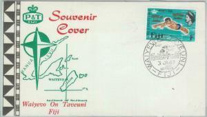 82607 - FIJI  - Postal History - SPECIAL  COVER 1967:  Waiyevo TAVEUNI