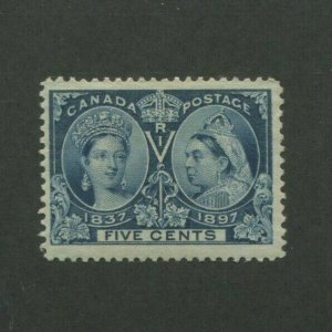 1897 Canada Postage Stamp #54 Mint Lightly Hinged F/VF Original Gum