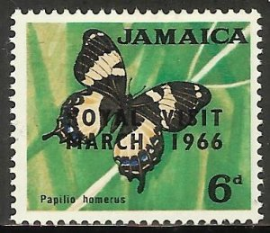 Jamaica 1966 Scott# 249 MH