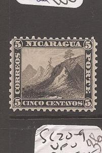 Nicaragua 1869 5c Mountain SC 5 MOG (3asm)