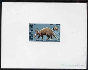 French Afars & Issas 1975 Wild Animals 200f (Aardvark...