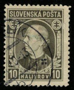 Slovenska posta, 10 halierov (T-9585)