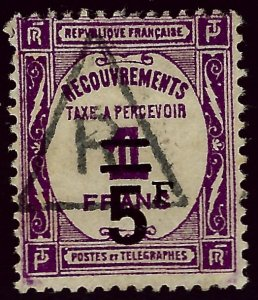 France SC J67 Used F-VF hr...Highly Collectible!!