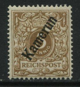 Germany 1897 3 pf overprinted Kamerum unmounted mint NH