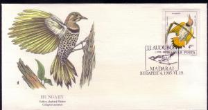 Hungary FDC SC# C446 Yellow Shafted Flicker  L196
