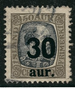 Iceland Attractive Sc#137 Used F-VF SCV $40...Fill a key spot!!