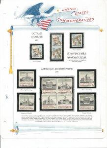 USA Postal Stamps MNH 1979 (21 stamps)
