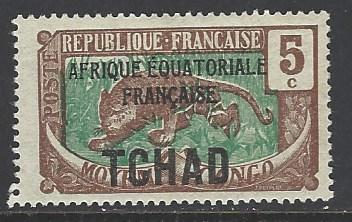 Chad Sc # 22 mint hinged (RS)