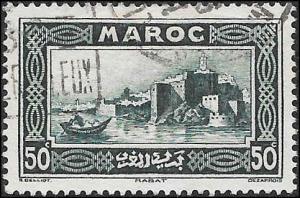 1933 FR MOROCCO  SC# 135 - XF S LH USED CV 1.00