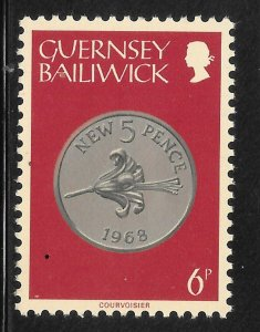 Guernsey Mint Never Hinged  [9259]