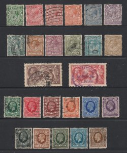 Great Britain the later KGV deffs used