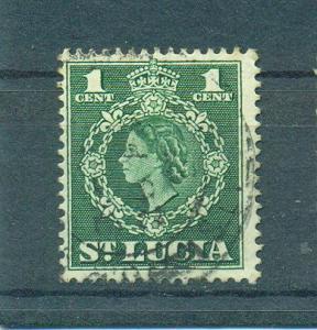 St. Lucia sc# 157 (2) used cat value $.25