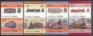 Tuvalu - Nanumaga 1985 Locomotives #1 (Leaders of the Wor...