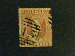 Grenada #5a used dull red a198.9418