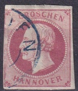 Hanover #19 F-VF Used CV $4.50  (Z4272)