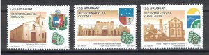 Uruguay 2016 The 200th Anniversary of the Department of Colonia  (MNH)  - Archit