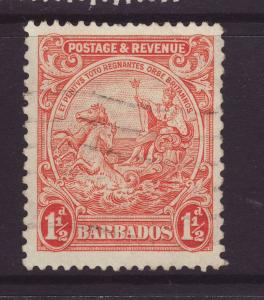 1932 Barbados 1½d Perf 13½ x 12½ Fine Used