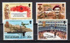 Isle of Man 1981 Anniv Royal British Legion MNH