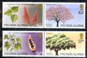 Pitcairn Islands Sc# 289-290 MNH Pair 1987 Trees