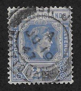 LEEWARD ISLANDS SC# 108  F/U 1938