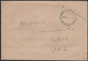 NEW ZEALAND 1948 cover sent free during POLIO EPIDEMIC......................H908