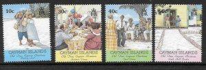 CAYMAN ISLANDS SG941/4 2000 CHRISTMAS MNH