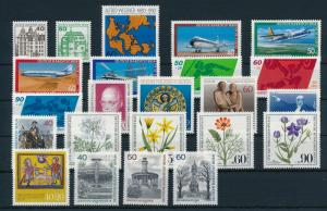 West Germany Berlin 1980 Complete Year Set MNH