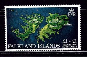Falkland Is B1 MH 1982 Maps