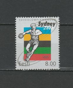 Estonia 2000 Olympic Games - Sydney MNH stamp