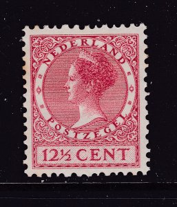 Netherlands a MH 12.5c from the watermarked 1926 set