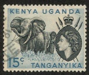 Kenya-Uganda-Tanganiyka, Scott #106, Used